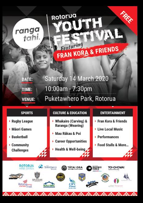 Rotorua Youth Festival